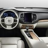 Отделка салона нового Volvo XC90